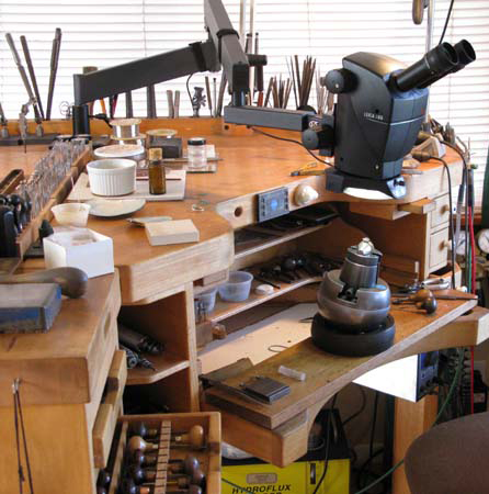 Thomas Fistler's Jewelry Bench
